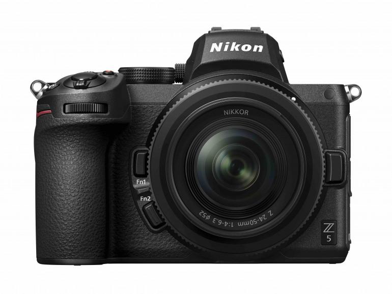 Nikon Z5 - niedrogi pełnoklatkowy bezlusterkowiec z dużymi możliwościami