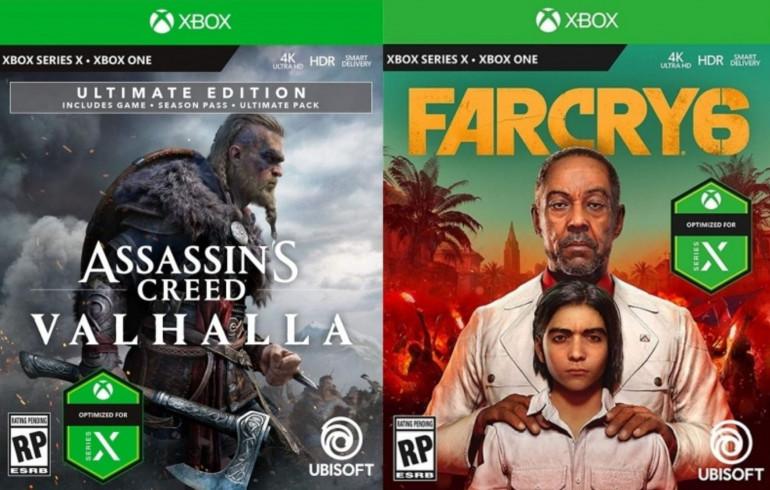 Tak będą prezentować się pudełka z grami na Xbox Series X