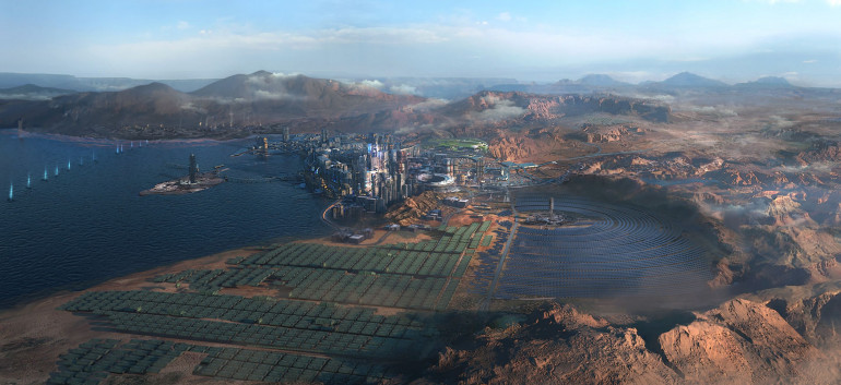 Cyberpunk 2077 Badlands