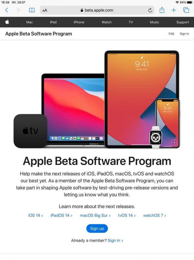 iOS/iPadOS - jak zainstalować wersję beta systemu [PORADNIK]