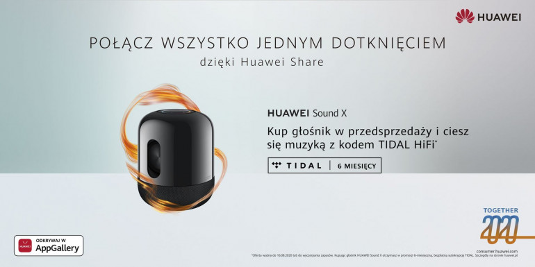 Przedsprzedaż Huawei Sound X