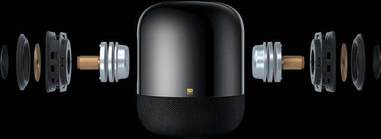 Głośniki zamontowane w Huawei Sound X