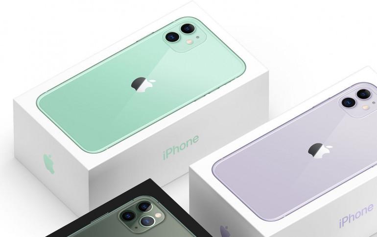 iPhone 11 w pudełku