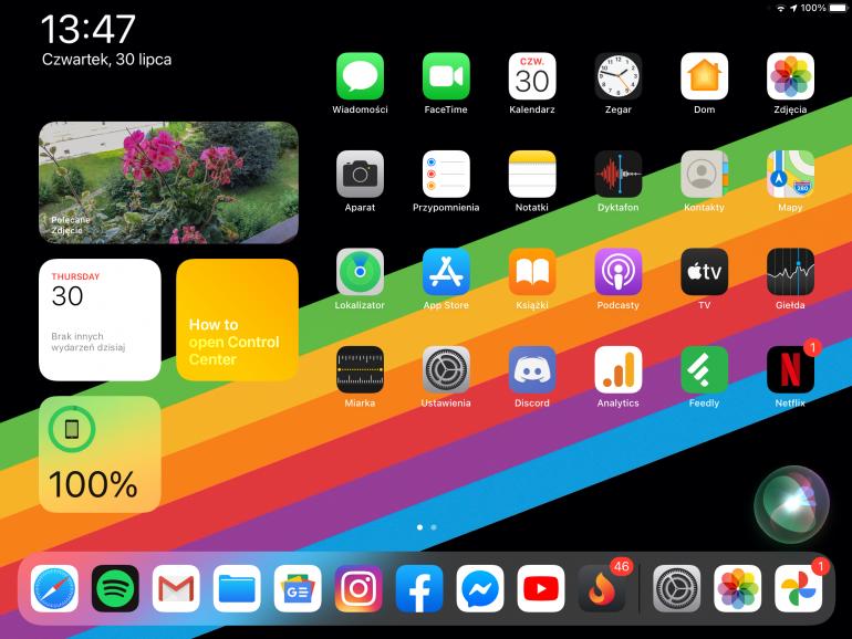 Odświeżone widgety na ekranie bocznym