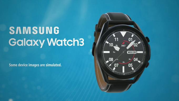 Galaxy Watch 3 Źródło: Evan Blass