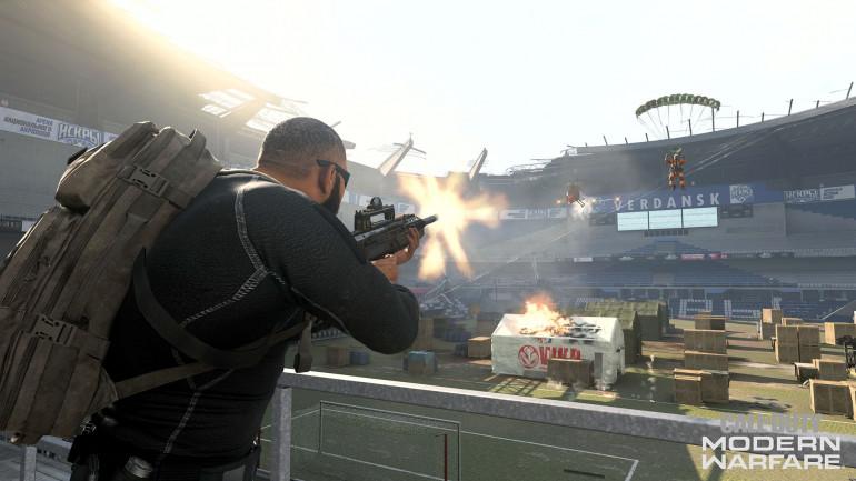 """Call of Duty Warzone - Sezon 5 pozwoli nam """"zwiedzić"""" wnętrze stadionu w Werdańsku"""