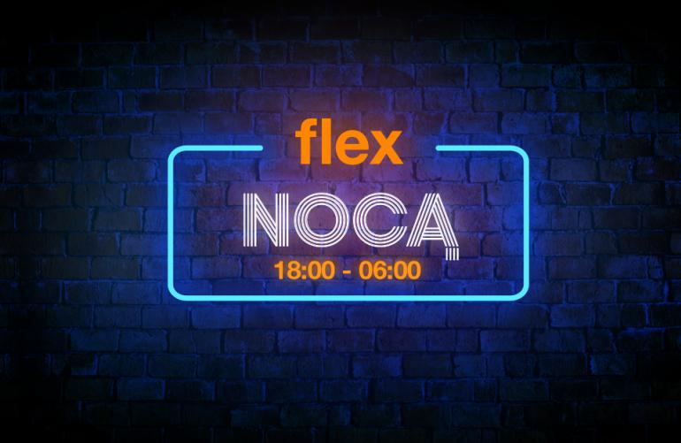 Ponowny Flex Nocą już dziś! #hello5G dla użytkowników Orange Flex #chceszmasz