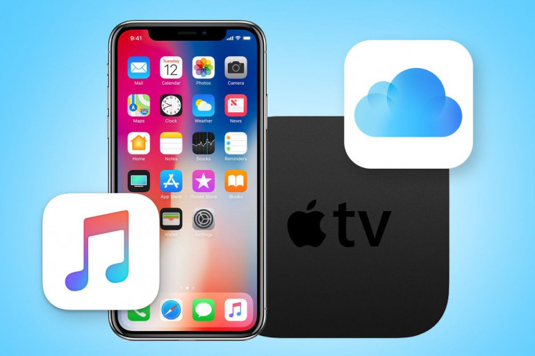 Apple Music, Apple TV oraz iCloud