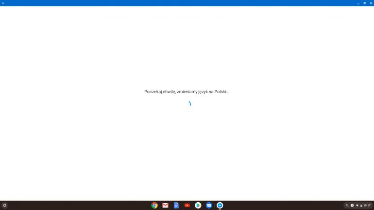 Messenger na Chrome OS