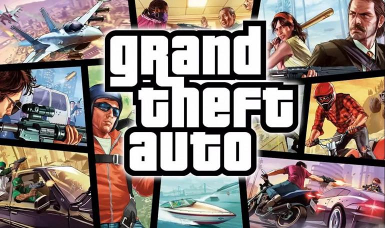 Grand theft auto rockstar games