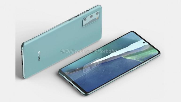 Samsung Galaxy S20 Lite Źródło: OnLeaks