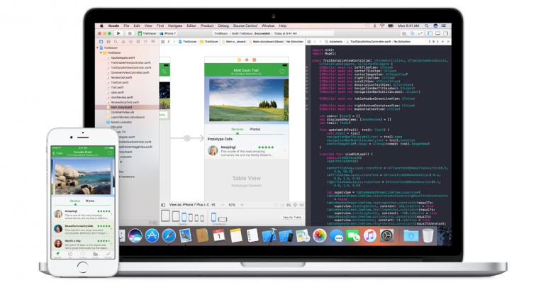 Xcode na Macbooku