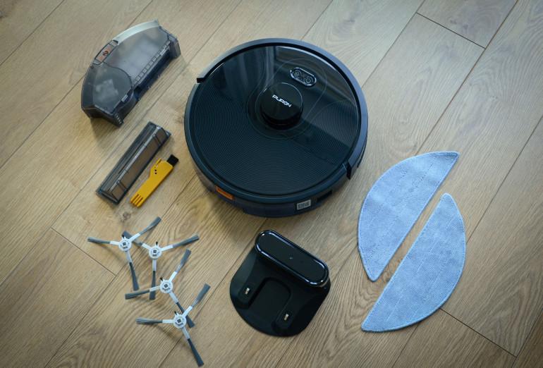 PURON PR10 - test zaawansowanego robota sprzątającego 3w1