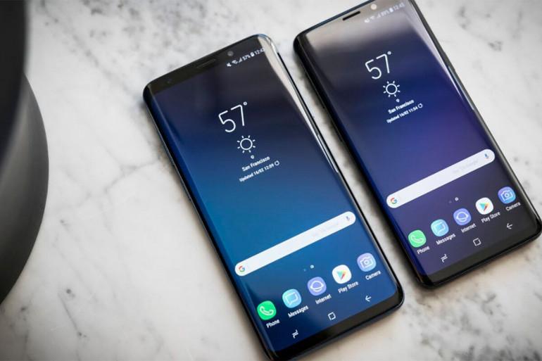 Samsung Galaxy S9+ oraz Galaxy S8 (z prawej)