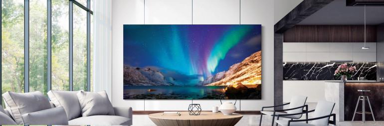 Telewizor Micro LED firmy Samsung