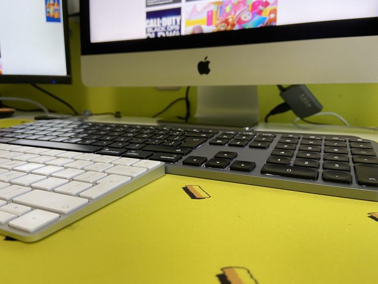 Dodatkowy blok numeryczny w MX Keys for Mac