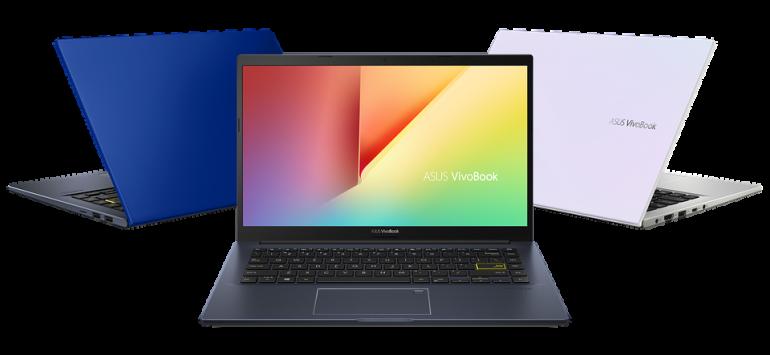 ASUS VivoBook S533 z 15 calową matrycą w różnych wersjach kolorystycznych
