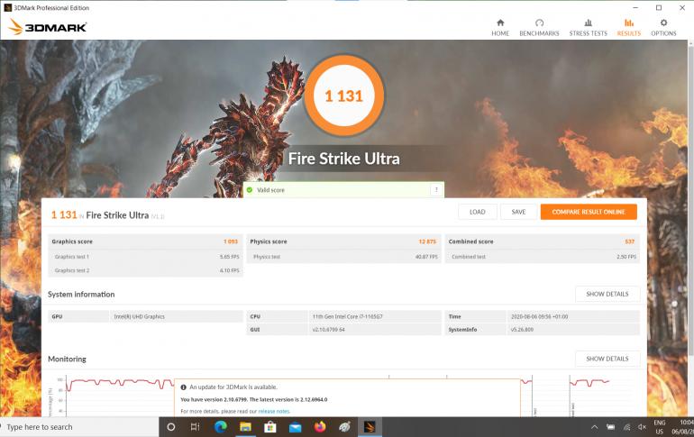 3DMark Fire Strike Ultra