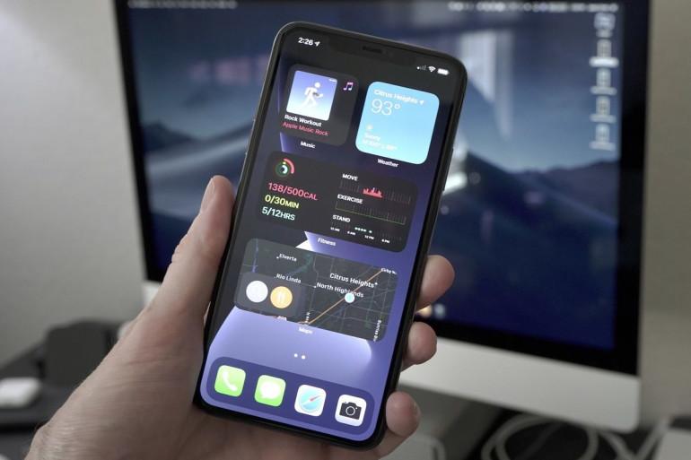 Widgety w systemie iOS 14 Źródło: macworld.com