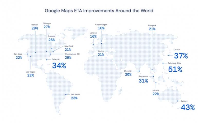Google maps deepmind