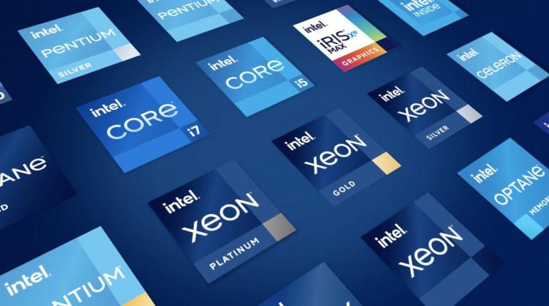 Nowe loga Intel zaprezentowane 2 września 2020 roku