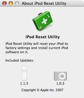 iPod Reset Utility 1.0