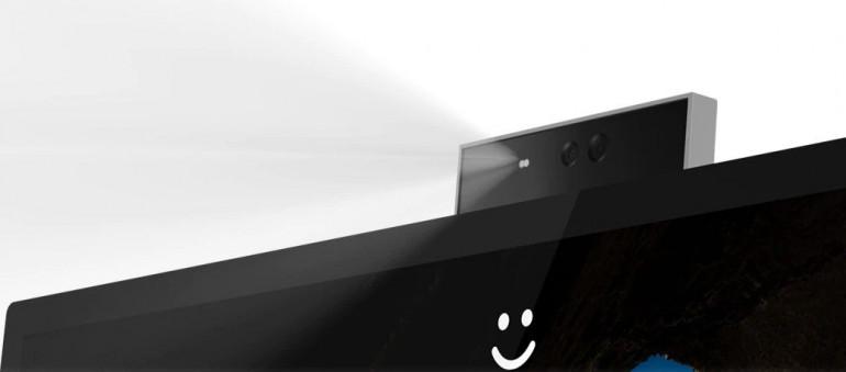 Kamera kompatybilna z Windows Hello w wysuwanym module