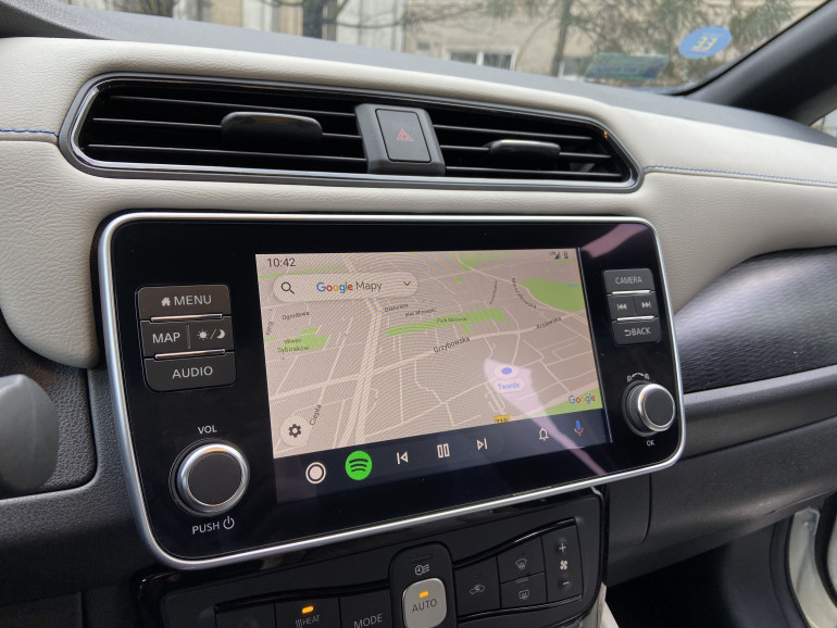 Android Auto w Nissan Leaf