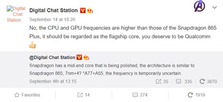 Mocniejsza wersja Snapdragona 865 na 2021 rok