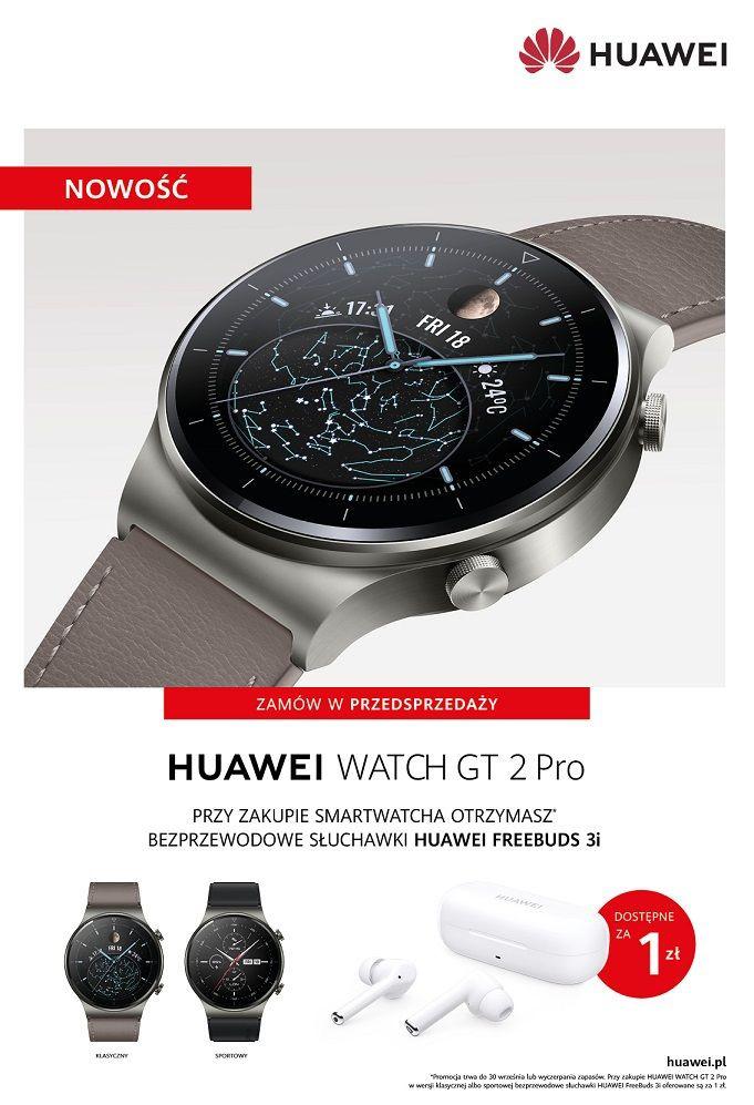 Huawei Watch GT 2 Pro - przedsprzedaż