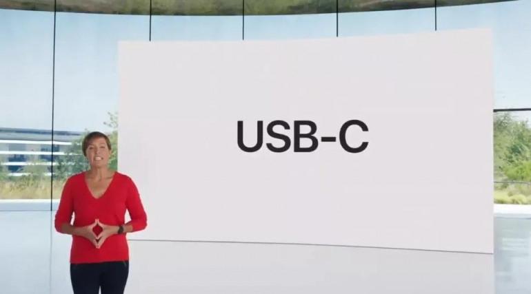 USB Typu C w iPad Air