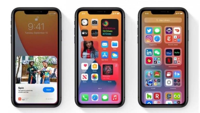 iOS 14 na iPhone 11