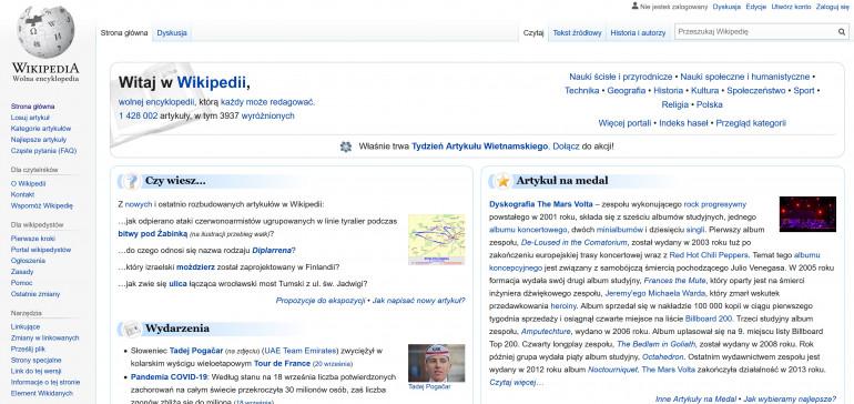 Zmiany na Wikipedii - innowacyjne rozszerzenia dla nowych użytkowników