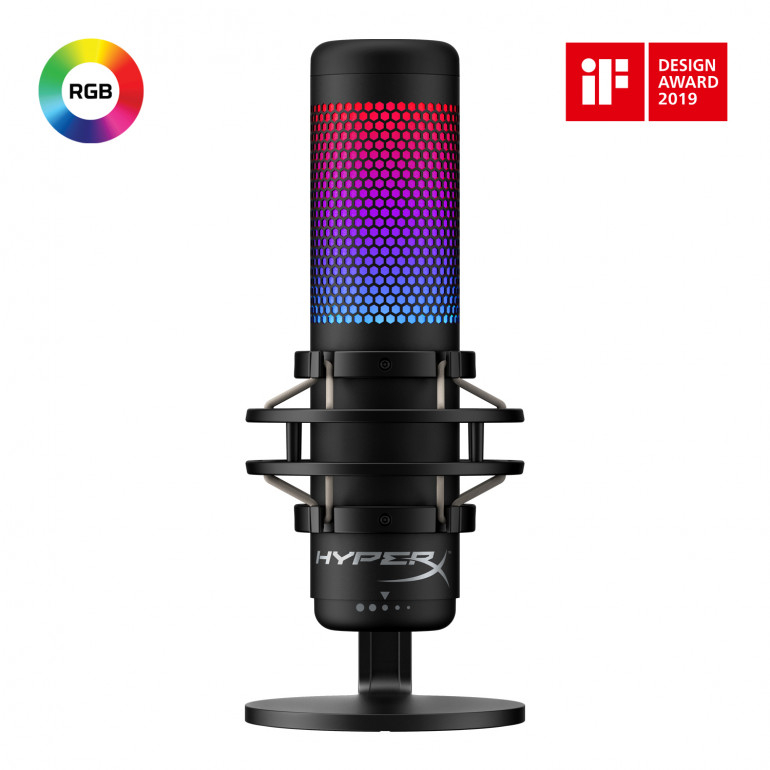 HyperX introduces the new QuadCast S USB microphone for streamers