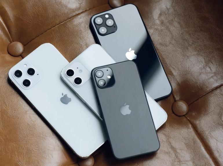 Rodzina Apple iPhone 12 Źródło: gizmochina.com