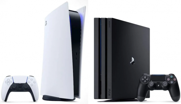 Playstation 5 vs ps4