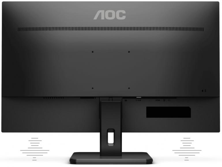 AOC prezentuje trzy nowe monitory do pracy w biurze i zastosowań biznesowych