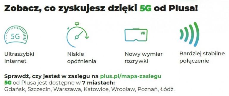 Plus na Kartę - użytkownicy będą mogli skorzystać z sieci 5G