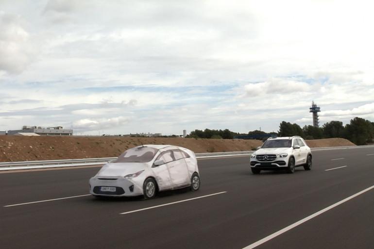 Mercedes Benz GLE podczas testów