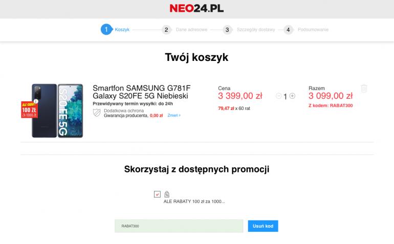 Galaxy S20FE 5G w promocji