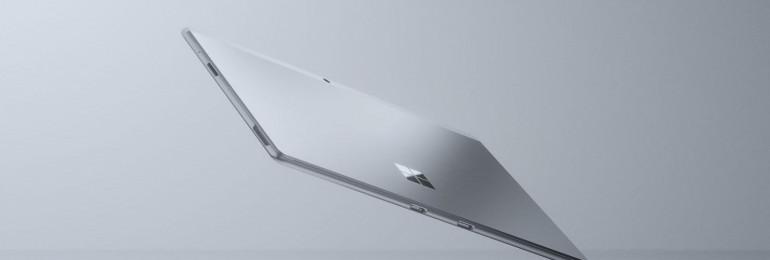 Surface Pro X w kolorze Platynowym