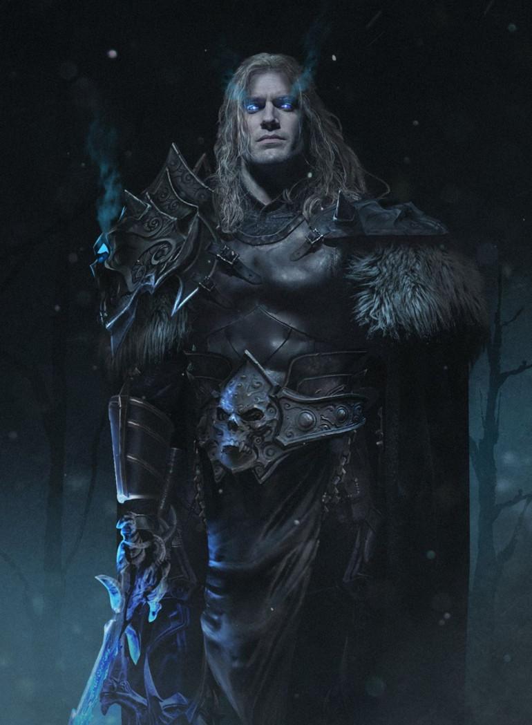 Henry Cavill Warcraft