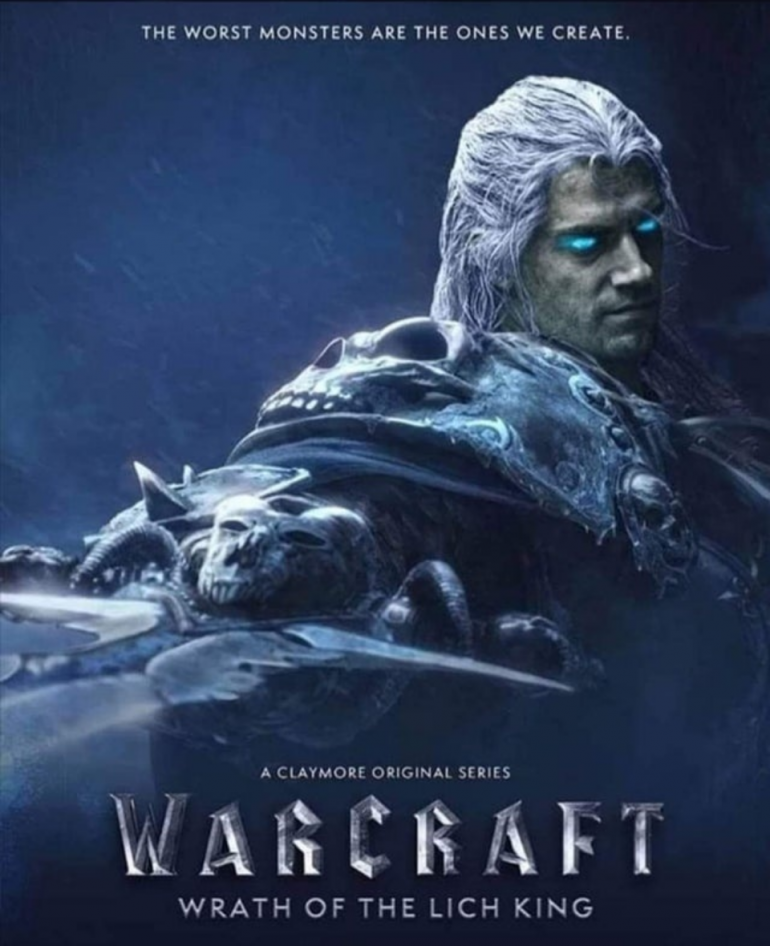 Henry Cavill World of Warcraft