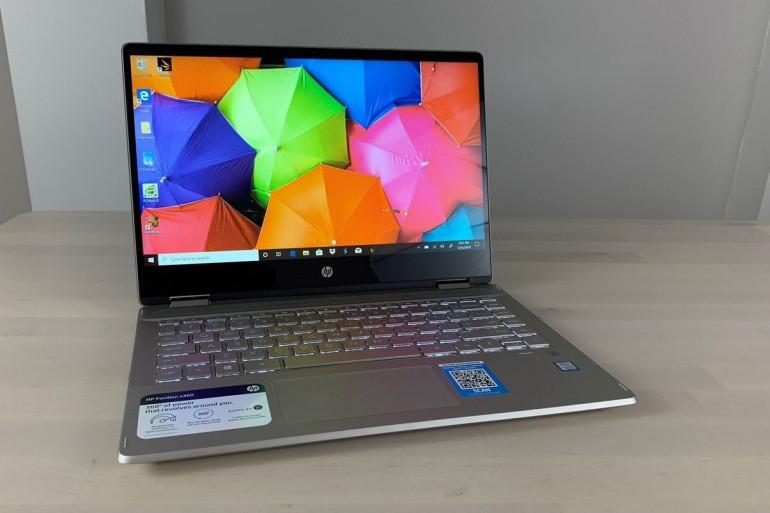 Laptop HP Pavilion x360 Źródło: pcworld.com