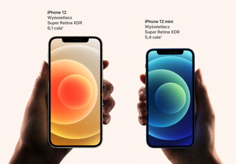 Wyświetlacze Super Retina XDR w najnowszych smartfonach od Apple