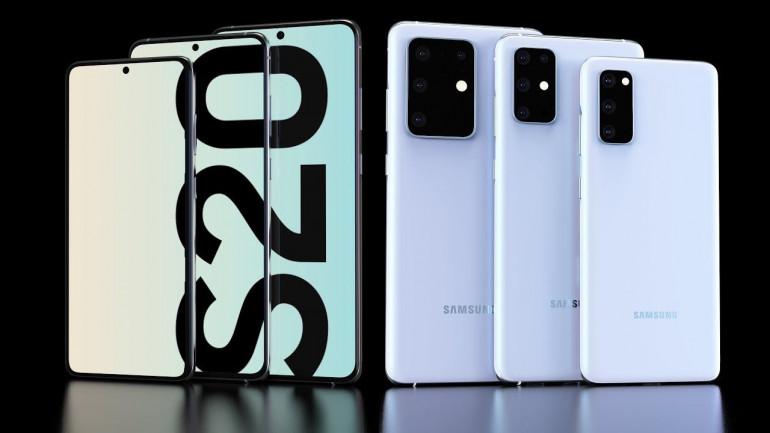 Linia modeli Galaxy S20