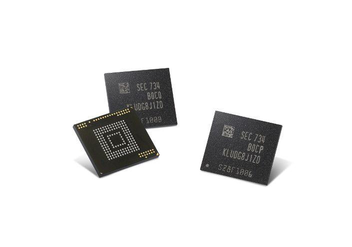 Chip pamięci eUFS produkcji Samsunga