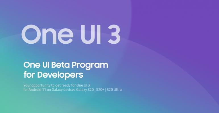 Beta testy One UI 3.0 dla Galaxy S20