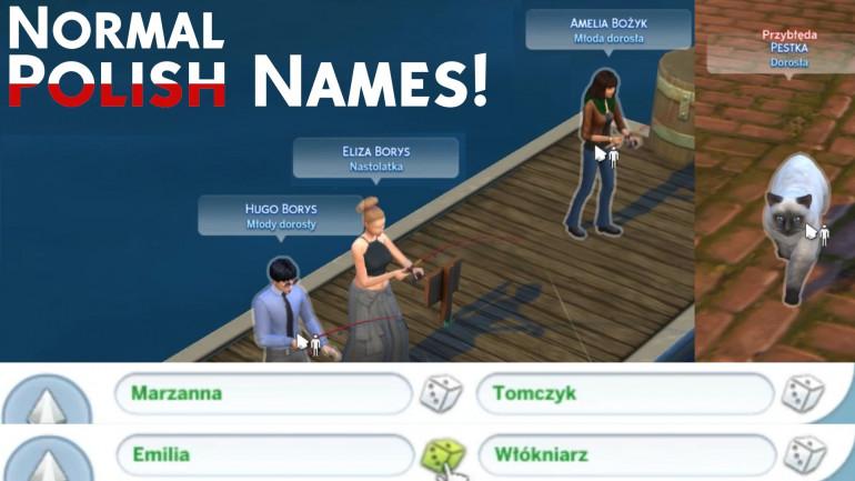 Normal & more polish names