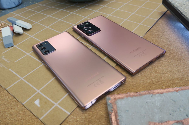 Galaxy Note 20 i Galaxy Note 20 Ultra Źródło: PCWorld.com